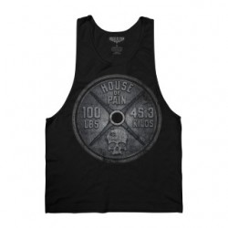 HOP GME: WEIGHT PLATE GYM CUT TANK S