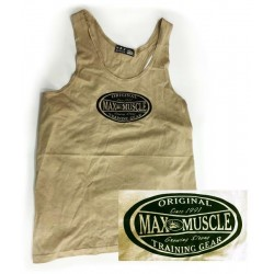 T-BACK/TANK TOP XL TAUPE