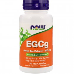 NOW FOOD - EGCg 400mg 90 caps