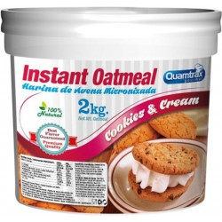 QUAMTRAX - OATS MEAL 2KG COOKIES & CREAM