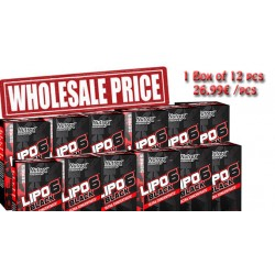 6 x  NUTREX - LIPO 6 BLACK ULTRA CONCENTRATE