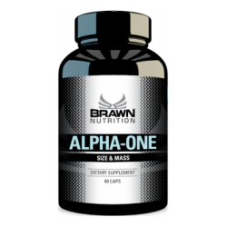 BRAWN NUTRITION- ALPHA ONE...