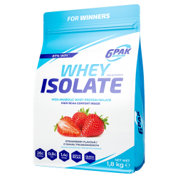 6PAK - WHEY ISOLATE 700GR