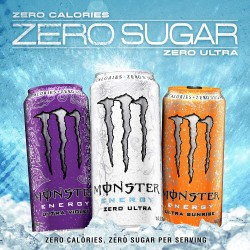 MONSTER ENERGY ULTRA 12X500ML