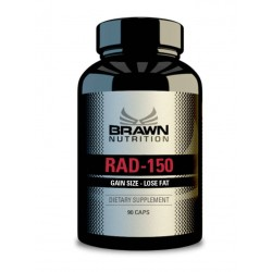BRAWN NUTRITION - Rad-150 caps