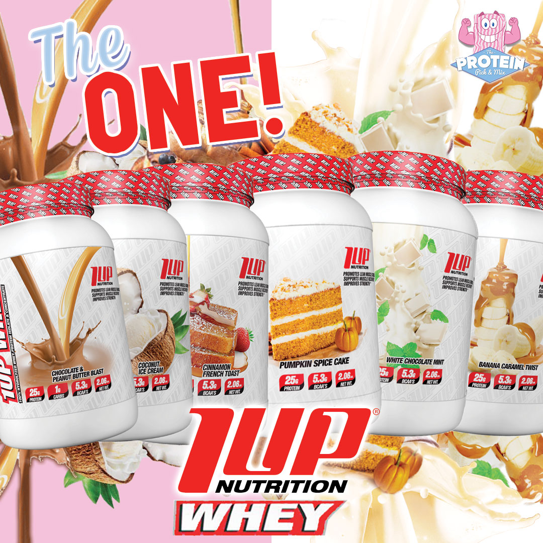 1 UP NUTRITION - 1UP WHEY PROTEIN 28srv 2lbs
